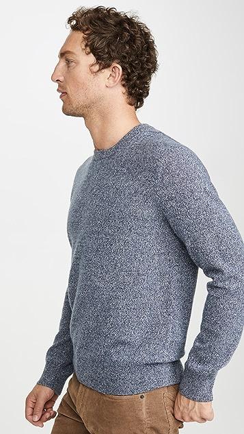 Club Monaco Cashmere Mouline Crew Sweater