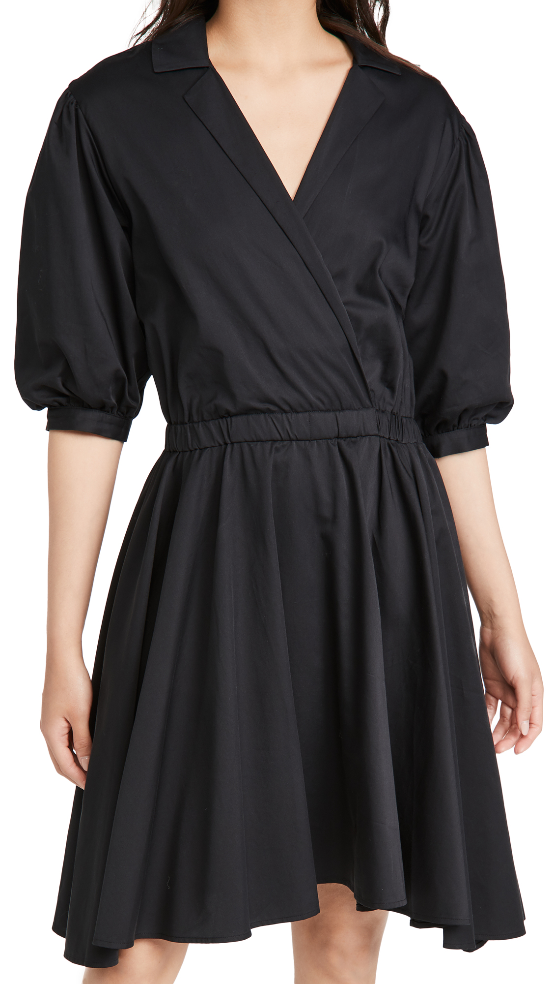 Club Monaco Collar A-Line Dress