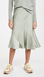 Club Monaco Seamed Slip Skirt