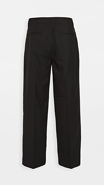 Club Monaco Cropped Side Panel Trousers