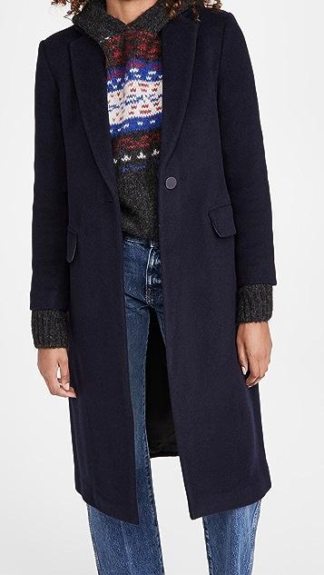 Club Monaco Slim Tailored Wool Coat