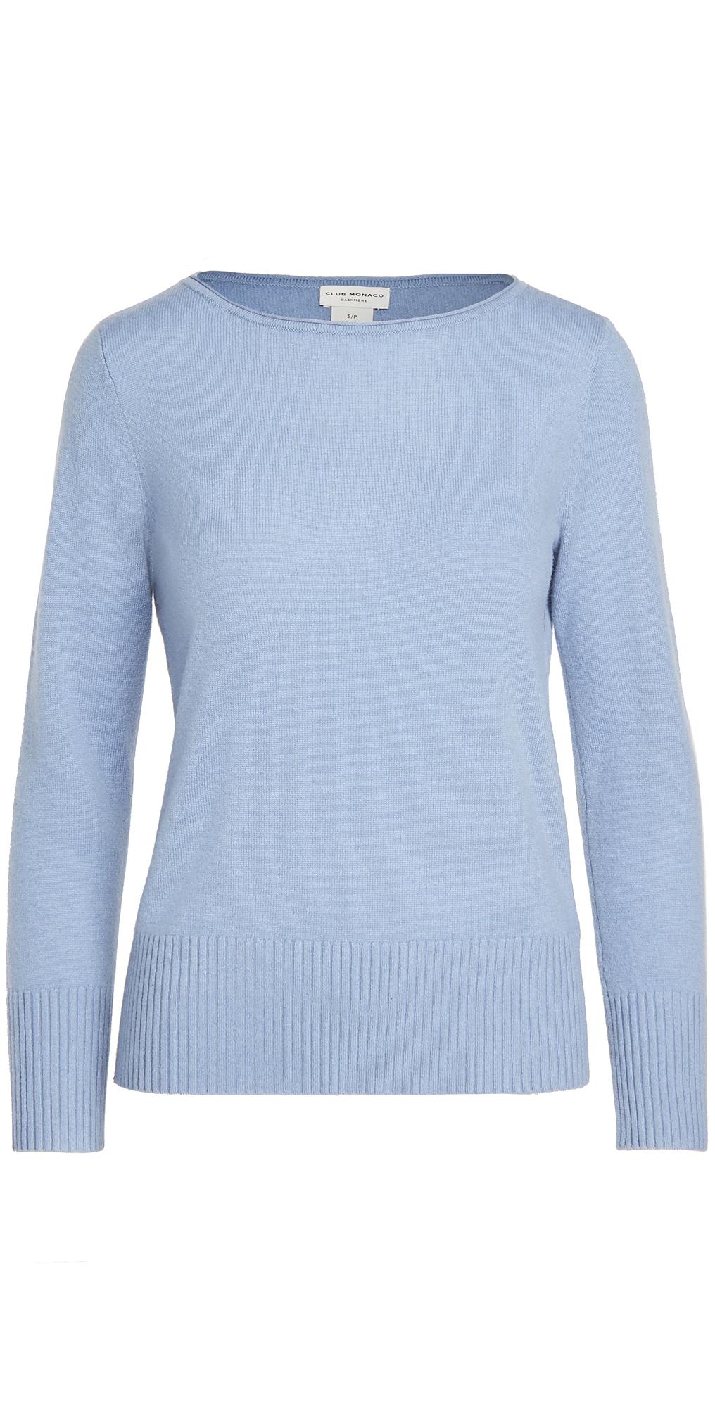 Club Monaco Essential Open Cashmere Sweater