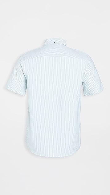 Club Monaco Stripe Oxford Shirt