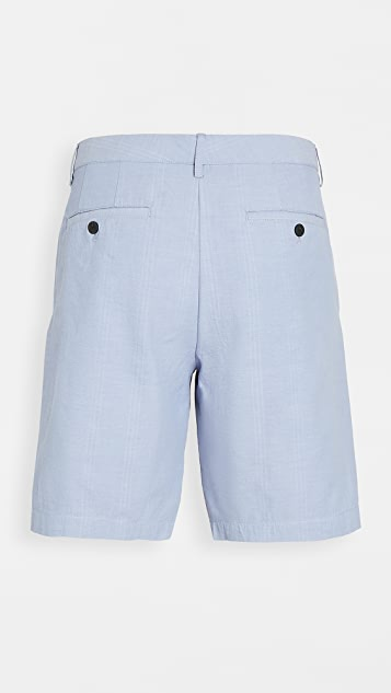 Club Monaco Maddox Doubleface Deck Stripe Shorts