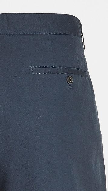 Club Monaco Maddox Doubleface Arch Geo Shorts