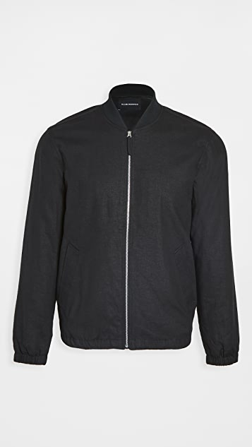 Club Monaco Summer Linen Bomber Jacket