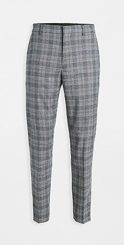 Club Monaco - Plaid Sutton Trousers