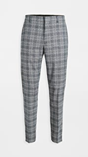 Club Monaco Plaid Sutton Trousers