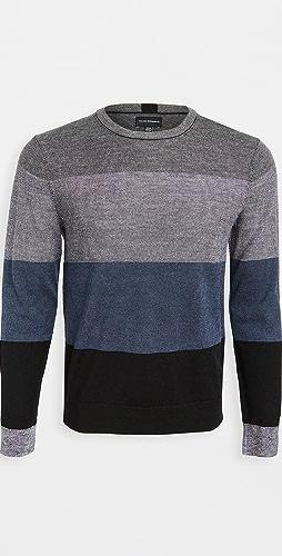 Club Monaco - Block Merino Crew Neck Sweater
