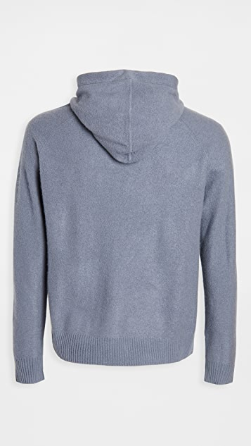 Club Monaco Boiled Cashmere Pullover Hoodie