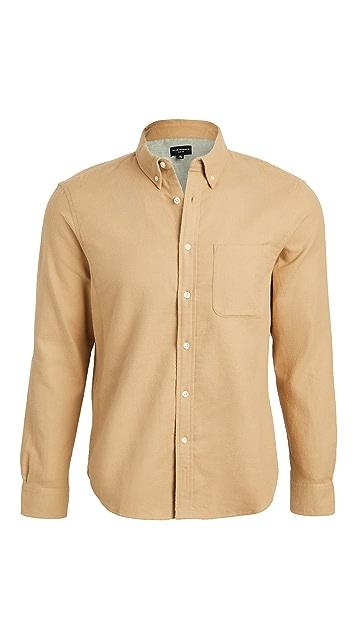 Club Monaco Double Face Long Sleeve Shirt