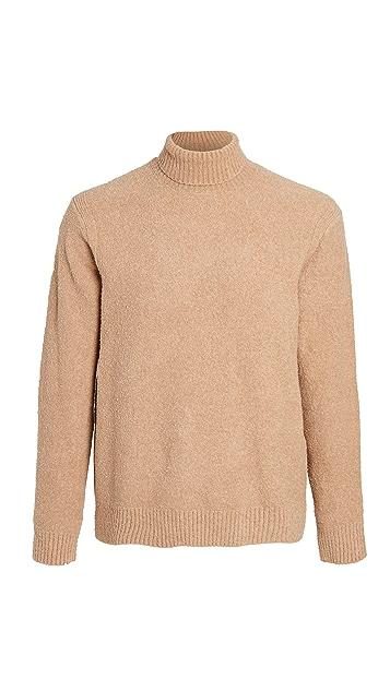 Club Monaco Boucle Turtleneck Sweater