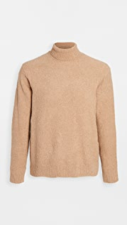 Club Monaco Boucle Turtleneck Sweater