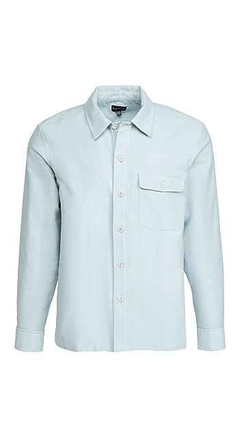 Club Monaco Moleskine Long Sleeve Shirt