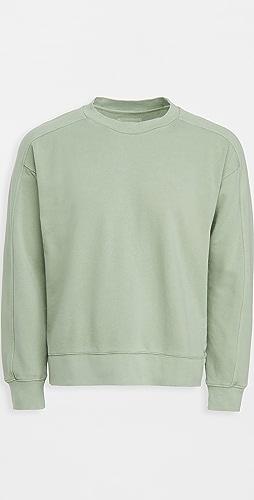 Club Monaco - Oversized Crew Sweatshirt