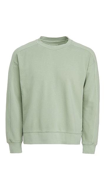 Club Monaco Oversized Crew Sweatshirt