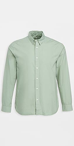 Club Monaco - Tea Dye Poplin Shirt