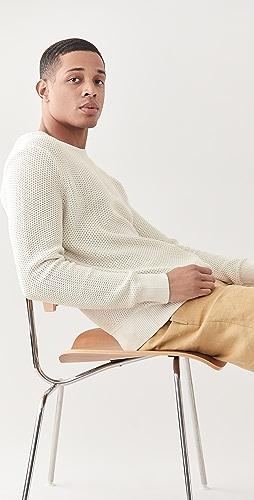 Club Monaco - Jacquard Stitch Crew Sweater
