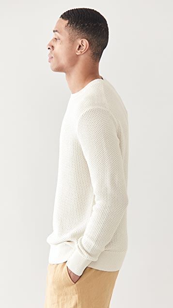 Club Monaco Jacquard Stitch Crew Sweater