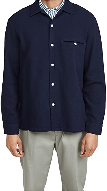 Club Monaco Waffle Shirt