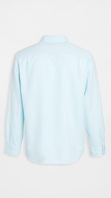 Club Monaco Solid Twill Shirt