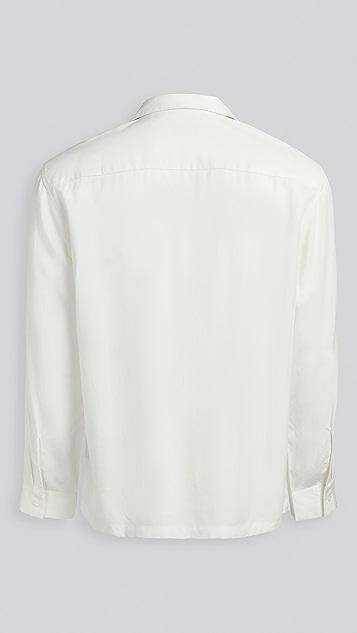 Club Monaco Tencel Button Down Shirt