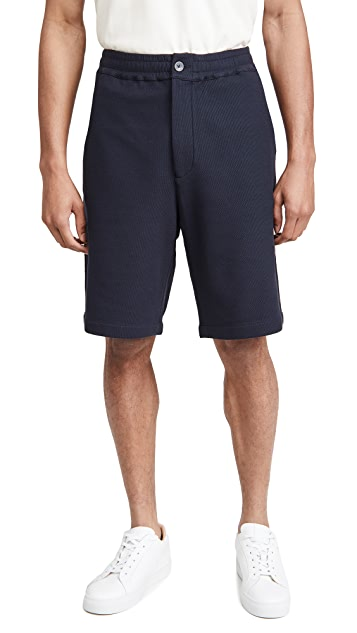 Club Monaco Textural Pique Shorts