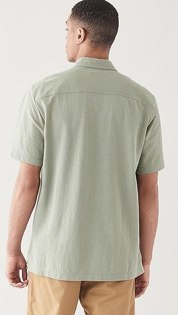 Club Monaco Camp Shirt
