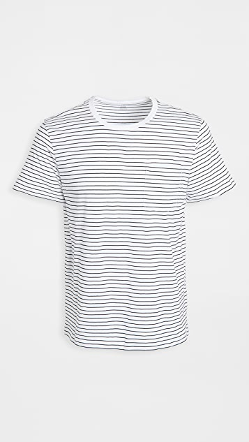 Club Monaco Short Sleeve Williams Tee