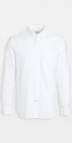 Club Monaco - Long Sleeve Oxford Shirt