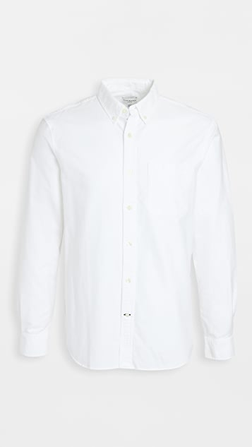 Club Monaco Long Sleeve Oxford Shirt
