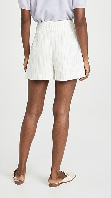 Club Monaco Linen Blend Shorts