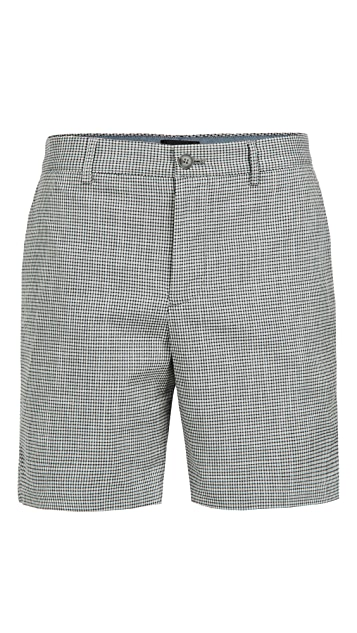 Club Monaco Baxter Micro Check Shorts