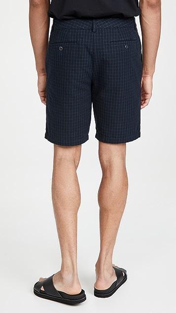 Club Monaco Maddox Check Shorts