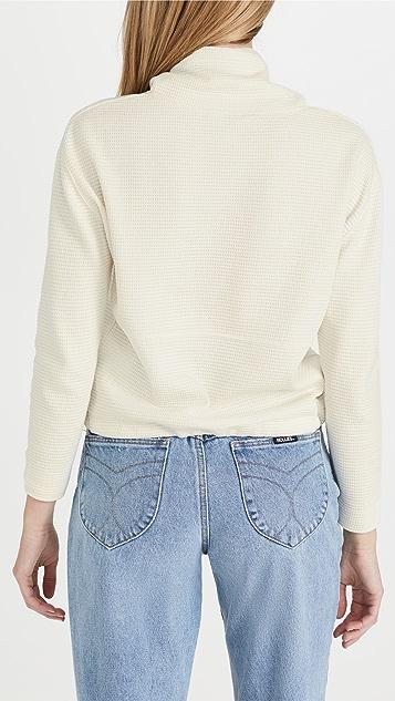 Club Monaco Waffle Sweatshirt