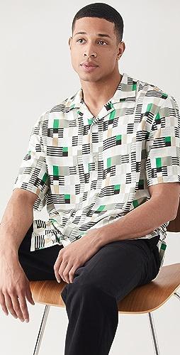 Club Monaco - Geo Print Shirt