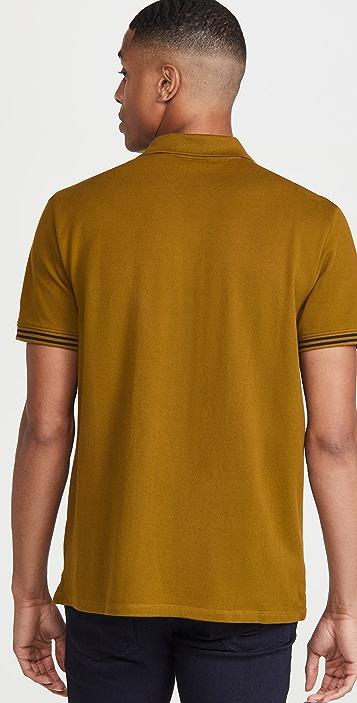 Club Monaco Tipped Collar Polo Shirt