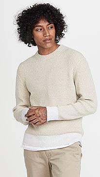 클럽 모나코 스웨터 Club Monaco Feel Good Crew Sweater,Cream