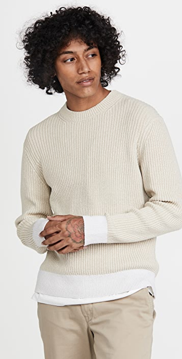 Club Monaco Feel Good Crew Sweater