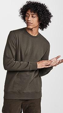 클럽 모나코 맨투맨 Club Monaco Signature Sweatshirt,Black Olive