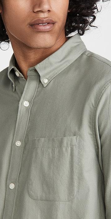 Club Monaco Slim Flannel Shirt