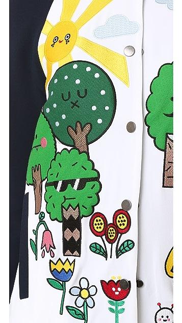 Mira Mikati Happy Forest Bomber Jacket