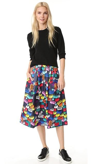 Mira Mikati Block Print Skirt