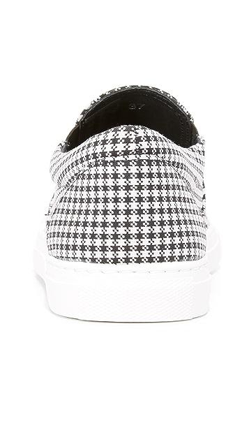 Mira Mikati Houndstooth Slip On Sneakers