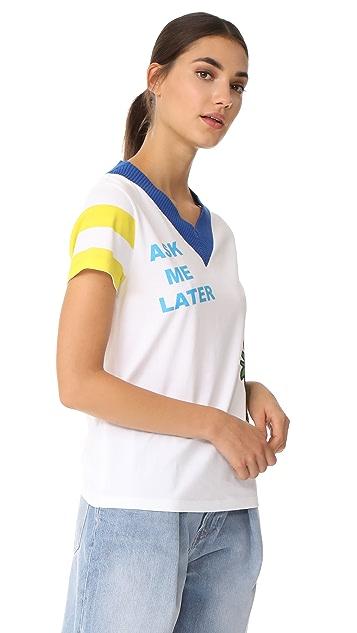 Mira Mikati Ask Me Later Print T-Shirt