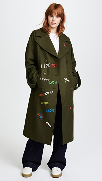 Mira Mikati Aventure Embroidered Coat