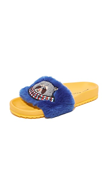 Mira Mikati Raccoon Patch Slides