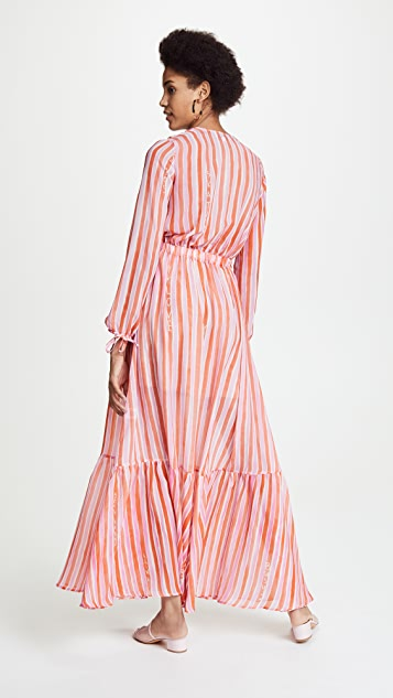 Mira Mikati Love More Stripe Dress