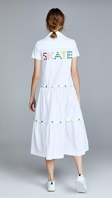 Mira Mikati Rainbow Stud Skate Dress