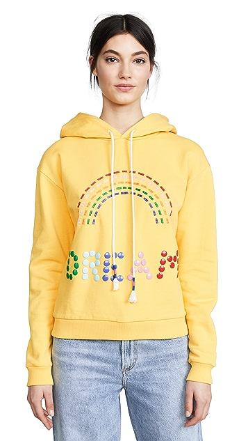 Mira Mikati Rainbow Stud Hoodie